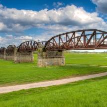 Eisenbahnbrücke D.